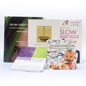 libros de aromaterapia y cosmética natural